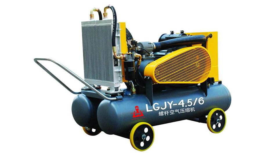驱动工矿用螺杆空压机