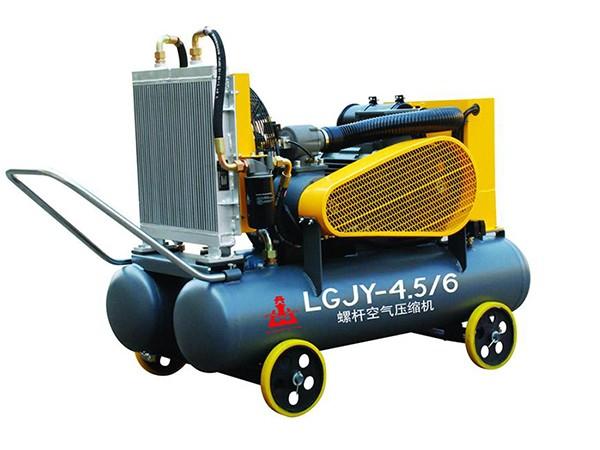 移动电动式驱动工矿用螺杆空压机