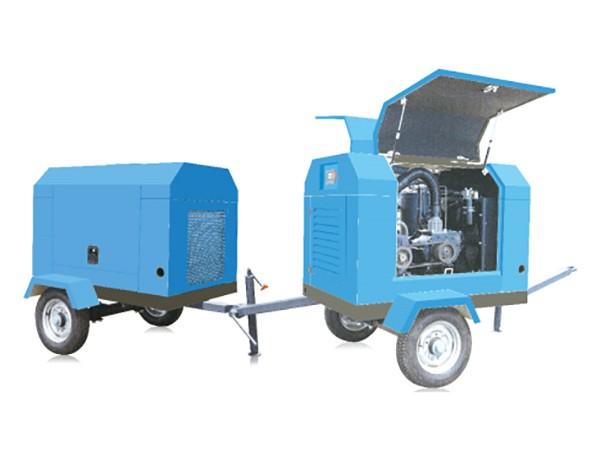台航柴油移动转式螺杆空压机