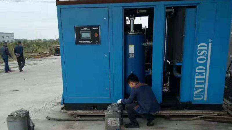 深圳高压空压机呈现烧瓦现象原因及解决方案