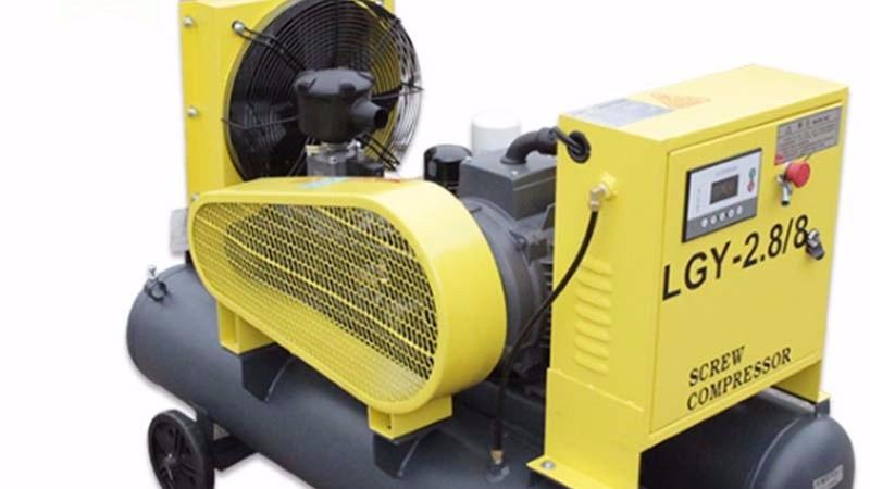 为什么要用无油空压机?无油螺杆空压机的好处,有什么优点?