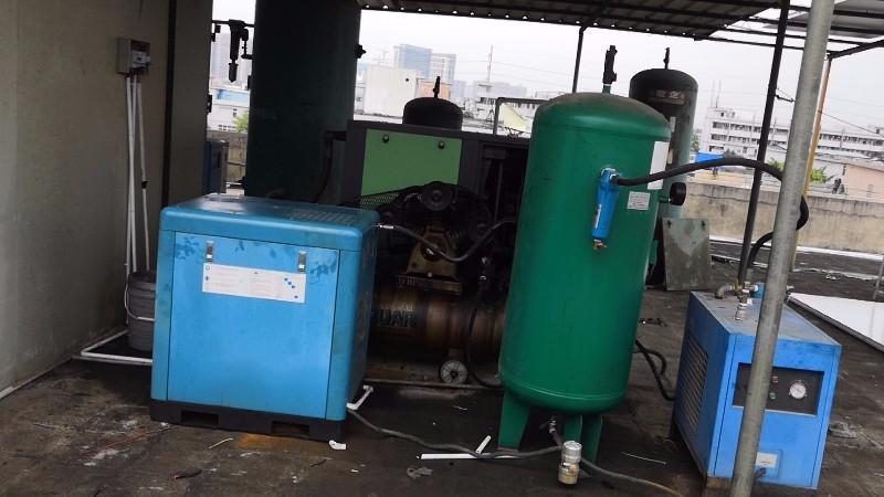 深圳空压机厂家遇到螺杆空压机高温发热的原因