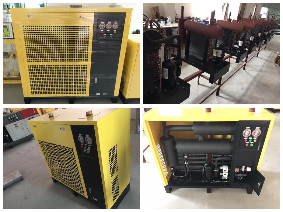 德国台航冷冻式高温型冷干机