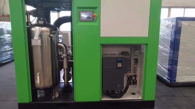 无油水润滑螺杆空压机的特点
