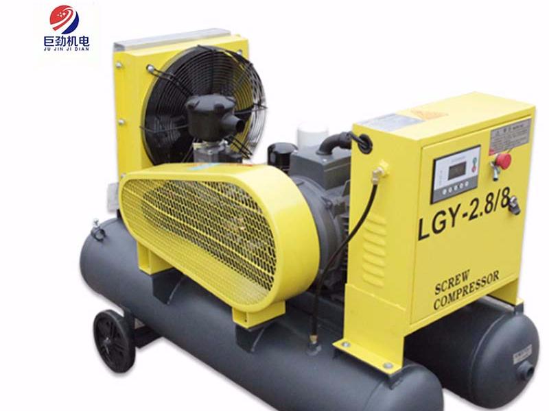 开山移动式大型电动驱动空压机
