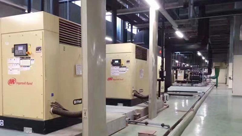 广州离合器公司与巨劲合作无油螺杆式空压机案例