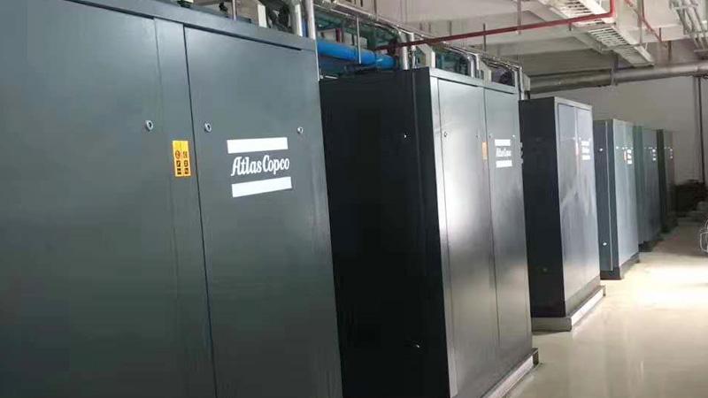 韶光自动化设备公司与巨劲合作节能空气压缩机案例