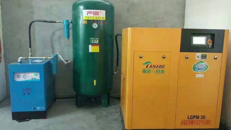 深圳科技股份公司与巨劲合作静音无油空压机案例